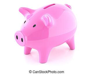 粉红猪一般的银行