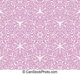 粉红色, 带子, 模式, seamless, 背景, 植物群