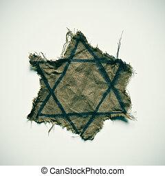粗糙, 犹太, 徽章