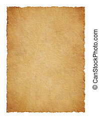 粗糙, 边缘, 羊皮纸