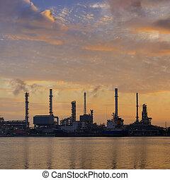 精煉厂, 油, 工廠
