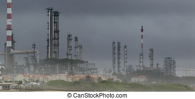精煉厂, 油