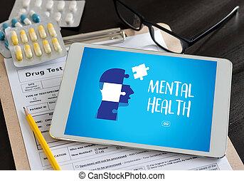 精神健康, 精神, 心理, 壓力管理, 以及, 心理, 創傷, 健康
