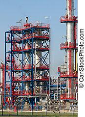 精製所, 石油化学 植物, 石油産業