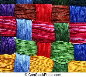 糸, 背景