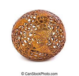 紀念品, 雕刻, 椰子, 從, bali, 印尼