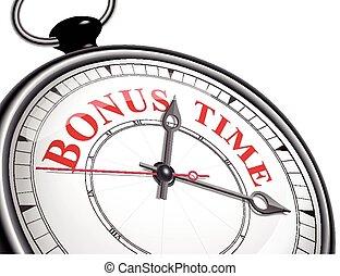 紅利時間, 概念, 鐘