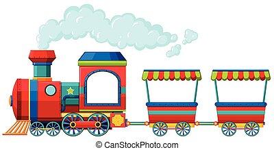 紅的火車, 由于, 二, 支架