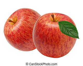 紅色的苹果