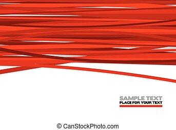 紅色, 條紋