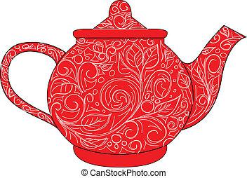 紅色, 茶壺