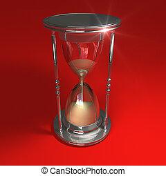 紅色, hourglass