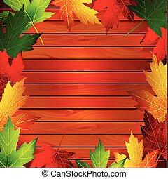 紅葉, 背景, かえで