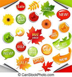 紅葉, 要素, セール, コレクション