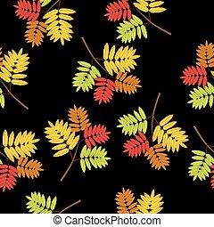紅葉, seamless, 背景