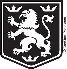紋章学, ライオン
