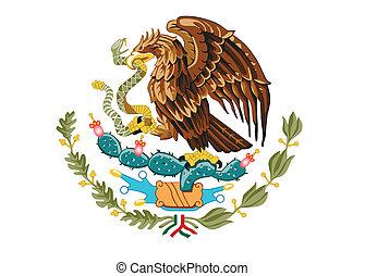 紋章, の, メキシコ\