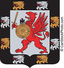 紋章, の, ∥, romanov, dinasty