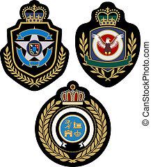 紋章, デザイン, バッジ