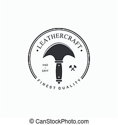 紋章, ラベル, leathercraft