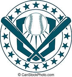 紋章, 旗, ∥あるいは∥, 野球
