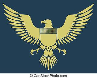 紋章, 鳥