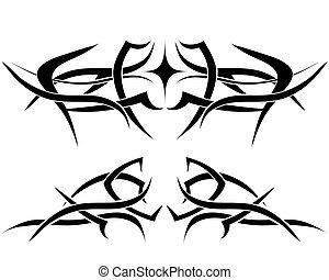紋身, 集合