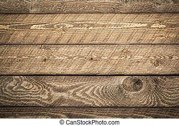 納屋, 外気に当って変化した, 背景, 木, 無作法