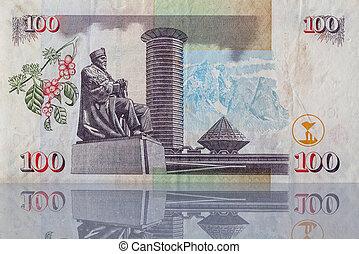 紙幣, から, kenya
