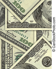 紙幣, 百, ビルズ, ドル, 私達