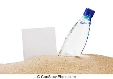紙, 為, the, 正文, 以及, a, 水的瓶子