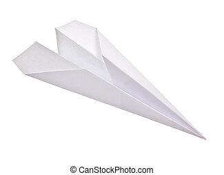 紙, 被隔离, 飛機