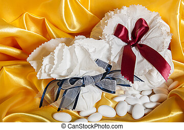 紙, 附件, 婚禮