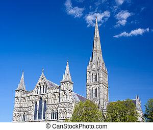 索尔兹伯里大教堂, 威尔特郡, 腺, 英国
