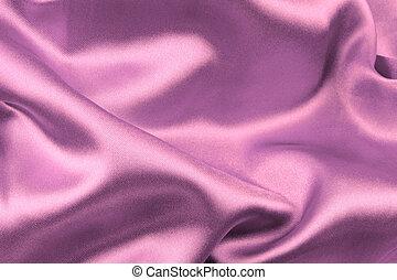 紫色のサテン, 生地