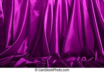 紫色の絹, 背景