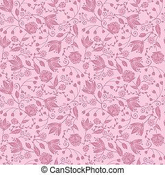 紫色, パターン, seamless, シルエット, 背景, 花