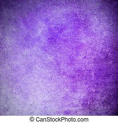 紫色, ペイントされた, グランジ, 背景