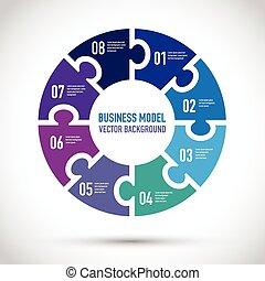 紫色, モデル, ビジネス