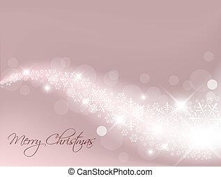 紫色, ライト, 抽象的, クリスマス, 背景
