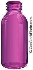 紫色, 医学, びん