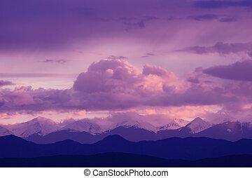 紫色, 威严