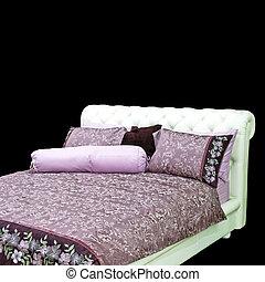 紫色, 寝具