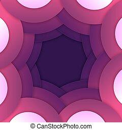 紫色, 形, 抽象的, ラウンド, 背景