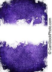 紫色, 手ざわり