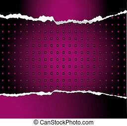 紫色, 技術, 抽象的