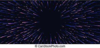 紫色, 抽象的, 旗, firework., お祝い