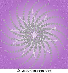 紫色, 抽象的, 背景