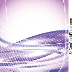紫色, 抽象的, 背景, デザイン, テンプレート