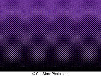 紫色, 抽象的, 背景, halftone